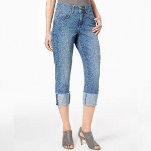 Style & Co. Blue Capri Jeans